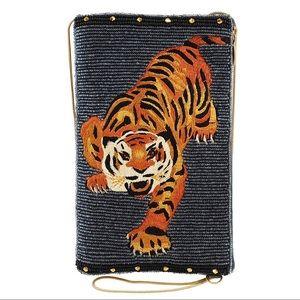 Mary Frances Fierce Tiger 🐅 Phone & Crossbody Bag